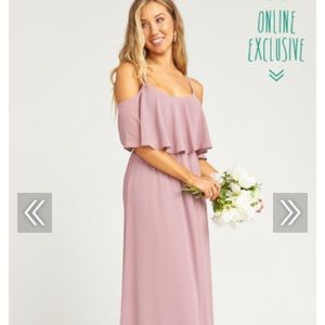 Showmeyourmumu bridesmaid dress